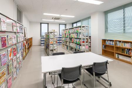画像:図書室