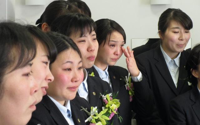 画像:卒業式の様子