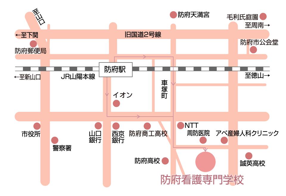 画像:周辺エリアマップ