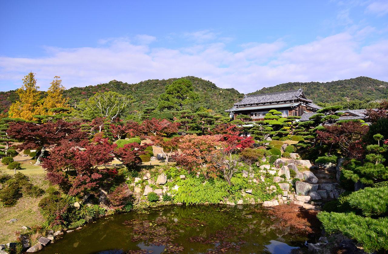 画像:毛利氏庭園