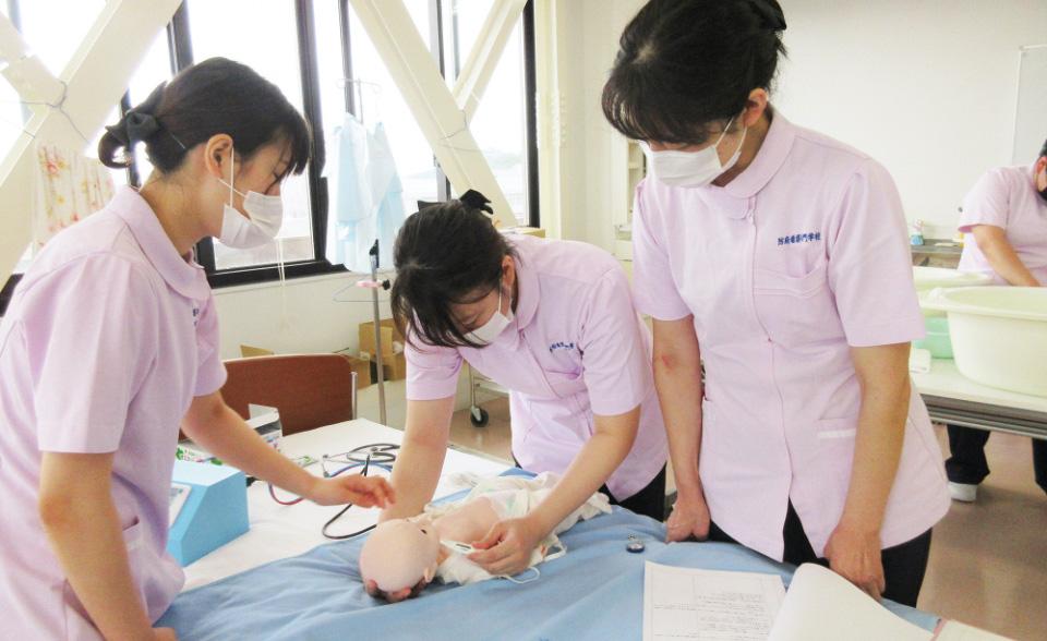 画像:助産師実習